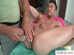 Extreme Homosexual Pooper Massage Four By GotRub