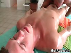 Amazing Buddy Getting Oiled Up And Prepped For Homo Rubbing Three By GotRub