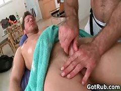 Tattooed Beast Getting His Smooth Butt Rimmed Four By GotRub
