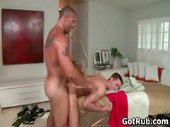 Hottie Guy Get His Steamy Torso Rubbed And Weiner Sucked Off 8 By GotRub