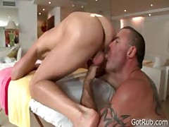 Lucky Dude Getting Great Rubbing 7 By GotRub