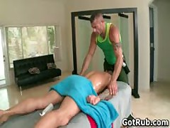Ripped Stud With Tattoos Making Out His Rubbing Expert 2 By GotRub