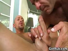 Guy Getting Super Sexy Homo Rubbing Four By GotRub