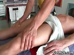 Amazing Dude Get His Incredible Torso Rubbed And Schlong Sucked Off 11 By GotRub