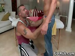 Smooth Booty Guy Getting Exciting Queer Rubbing 1 By GotRub
