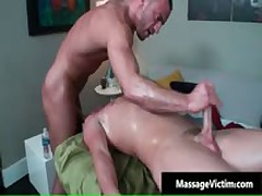 Chase Gets His Amazingly Cute Gay Ass Fucked Deep 4 By MassageVictim