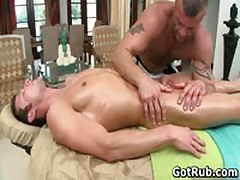 Super Exciting Buddy Gets Fine Body Massages 12 By GotRub