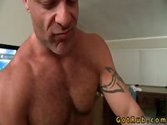 Tattooed Gorgeous Gets Pooper Stuffed With Glass Sex Toy 17 By GotRub