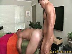 Rubbing Expert Gets His Small Stinker Stuffed 20 By GotRub