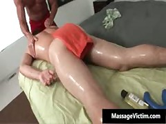 Alex Gets His Oily Tight Asshole Fucked Deep And Hard 1 By MassageVictim