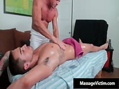 Bryce Gets His Super Tight Ass Oiled And Fucked 3 By MassageVictim
