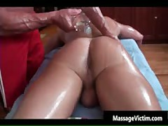 Super Hot Bodied Guy Gets Oiled For Gay Massage 3 By MassageVictim
