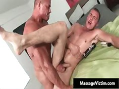 Alex Gets His Oily Tight Asshole Fucked Deep And Hard 5 By MassageVictim