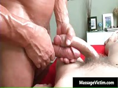 Dude Gets Super Hot Gay Massage And Gets A Hardon 5 By MassageVictim