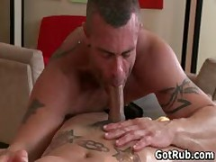 Hunky Dude Gets His Smooth Body Massaged 4 By GotRub