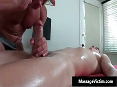 Straight Guy Gets Ass Wrecked During Gay Massage 4 By MassageVictim