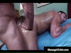 Super Hot Bodied Guy Gets Oiled For Gay Massage 7 By MassageVictim