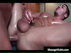 Super Hot Bodied Guy Gets Oiled For Gay Massage 9 By MassageVictim