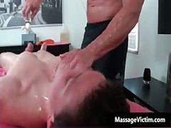 Straight Guy Gets Ass Wrecked During Gay Massage 3 By MassageVictim
