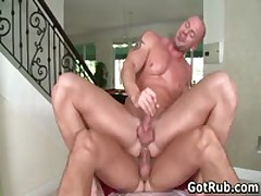 Muscled Guy Gets His Fine Tatooed Ass Fucked 8 By GotRub