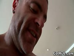 Hunky Guy Gets Oiled Up And Gay Massaged 9 By GotRub