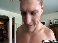 Dude With Perfect Body Gets Gay Rubbing 1 By GotRub