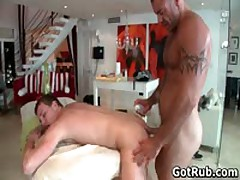 Hunky Guy Gets Oiled Up And Gay Massaged 7 By GotRub