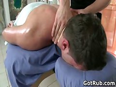 Dude Gets His Ass Oiled Up And Fucked Hard 1 By GotRub