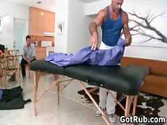 Tattooed Hunk Gets His Smooth Ass Rimmed 1 By GotRub