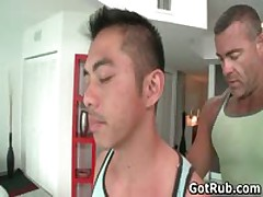 Lucky Guy Gets Ass Oiled And Fucked Deep And Hard 1 By GotRub