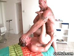 Sexy Guy Gets Oiled Up And Prepped For Gay Massage 4 By GotRub
