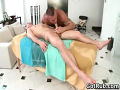 Massage Pro Gets His Tattooed Anus Fucked By Client 2 By GotRub