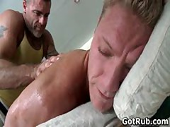 Dude With Perfect Body Gets Gay Rubbing 2 By GotRub