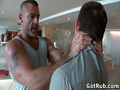 Hunky Guy Gets Oiled Up And Gay Massaged 1 By GotRub