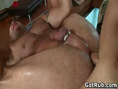 Massage Pro Gets His Hairy Ass Fucked 1 By GotRub