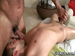 Massage Pro In Deep Anal Wrecking Gay Porn 4 By GotRub