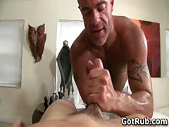 Massage Pro In Deep Anal Wrecking Gay Porn 3 By GotRub