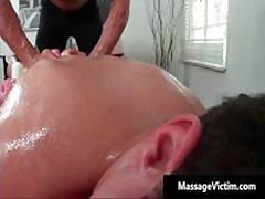 Straight Guy Gets Ass Wrecked During Gay Massage 2 By MassageVictim