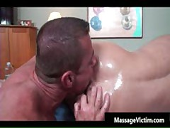 Super Hot Bodied Guy Gets Oiled For Gay Massage 6 By MassageVictim