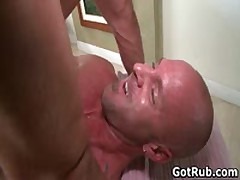 Muscled Guy Gets His Fine Tatooed Ass Fucked 7 By GotRub