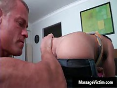 Bryce Gets His Super Tight Ass Oiled And Fucked 1 By MassageVictim