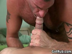 Two Amazing Hunks In Sexy Gay Massage Action 4 By GotRub