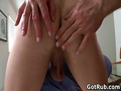 Tattooed Hunk Gets His Smooth Ass Rimmed 7 By GotRub