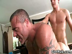 Lucky Dude Gets His Stiff Jizzster Gay Massaged 7 By GotRub