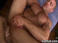 Amazing Hunk With Tattoos Gets His Jizzster Sucked 8 By GotRub