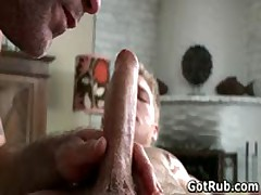 Dude With Perfect Body Gets Gay Rubbing 5 By GotRub