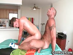 Sexy Guy Gets Oiled Up And Prepped For Gay Massage 6 By GotRub