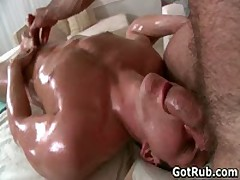 Dude Gets His Tiny Little Cute Asshole Rubbed 5 By GotRub