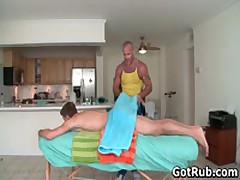 Sexy Guy Gets Oiled Up And Prepped For Gay Massage 1 By GotRub