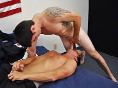 Firefighter Slams Marines Ass